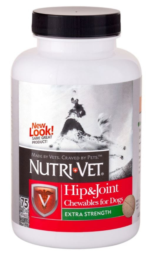 Nutri-Vet Hip and Joint Extra Strength Dog Chewables