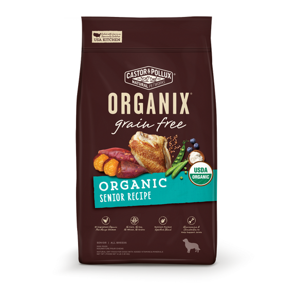 Castor and Pollux Organix Grain Free Organic Senior Dry Dog Food
