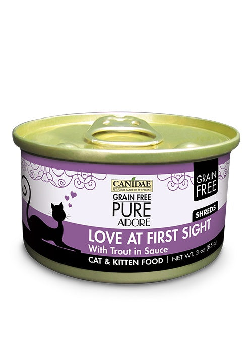Canidae Grain Free PURE Adore: Love at First Sight with Trout Canned Cat Food