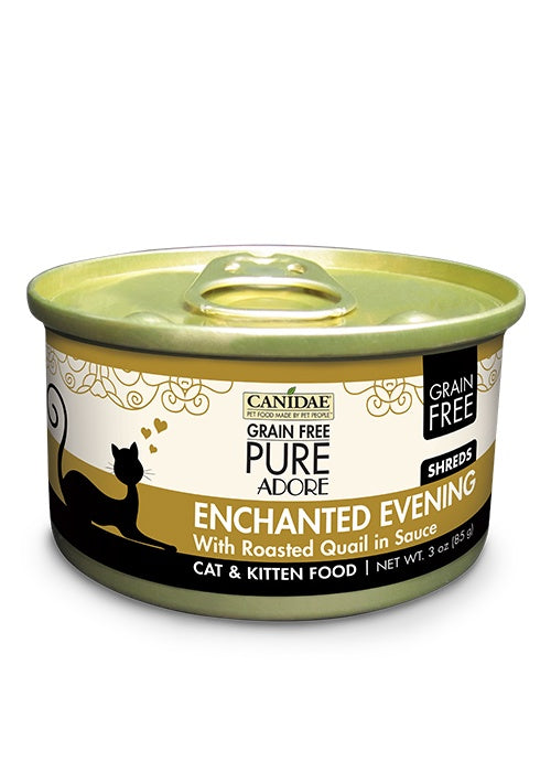 Canidae Grain Free PURE Adore: Enchanted Evening with Roasted Quail Canned Cat Food