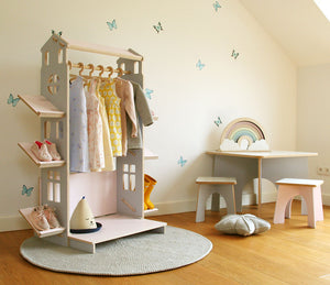 mini dressing portant enfants