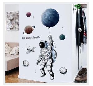 Sticker Astronaute