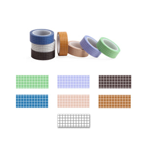 Grid Washi Tape, Planner and Journal Grid Masking Tape