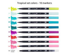 Dual Brush Pen Art Markers by Tombow - Brush Lettering Pens