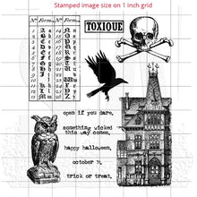 Vintage Halloween Stamps, Regions Beyond Tim Holtz Cling Stamps