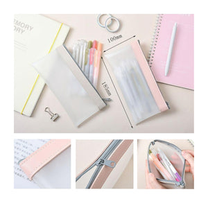 Cute Pencil Case, Transparent Pen or Pencil Holder