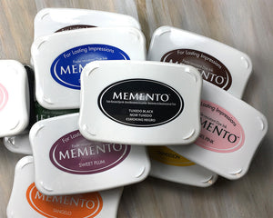 Memento Ink Pad, Full Size Stamp Ink Pads in 14 Colors