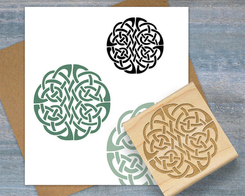 Celtic Knot Stamp, Infinity Eternity Symbol Stamp