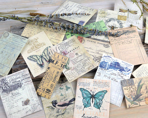 Junk Journal Vintage Style Papers