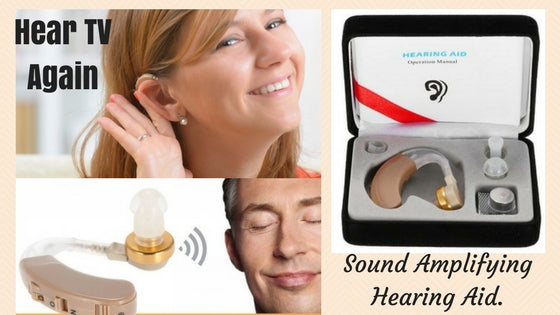 Hear TV Again with an Affordable Sound Amplifying Digital Hearing Aid