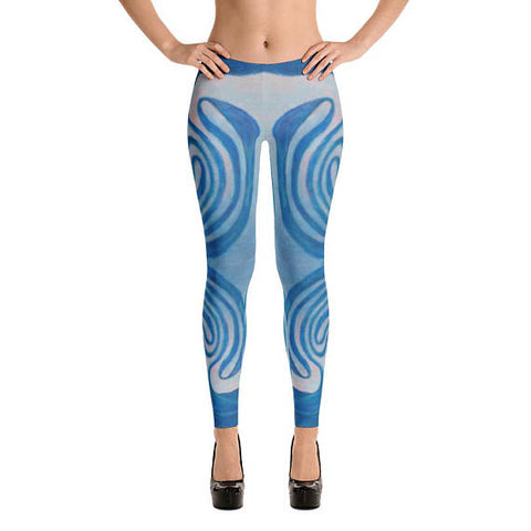 Original Art Design Made in America Quality Opaque Leggings for Yoga and Fashion