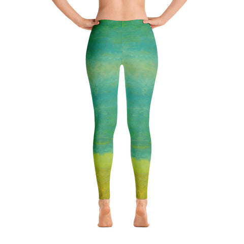 Yoga, Workout or Fashion Quick Dry Leggings Unique Design 5 Sizes