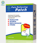 Pain Relief Patches 30 Pieces Herbal Menthol Self Adhesive Pain Relief Patch for Arthritis, Backache, Strains,Sore Muscles