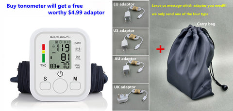 Home Health Care Digital  Upper Arm Blood Pressure Monitor Machine