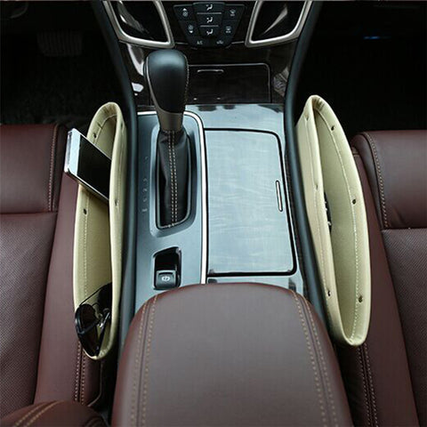 Universal Car Seat Gap Filler Pocket Car Seat Seam Storage Box Seat Catcher