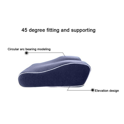 Memory Foam Orthopedic Cervical Pillow For Neck Support And To Prevent Snoring