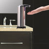 Image of Hygienic Automatic Hands Free Motion Activated Stainless Steel Soap Dispenser