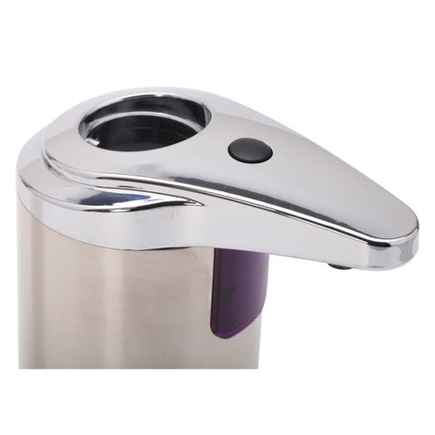 Hygienic Automatic Hands Free Motion Activated Stainless Steel Soap Dispenser