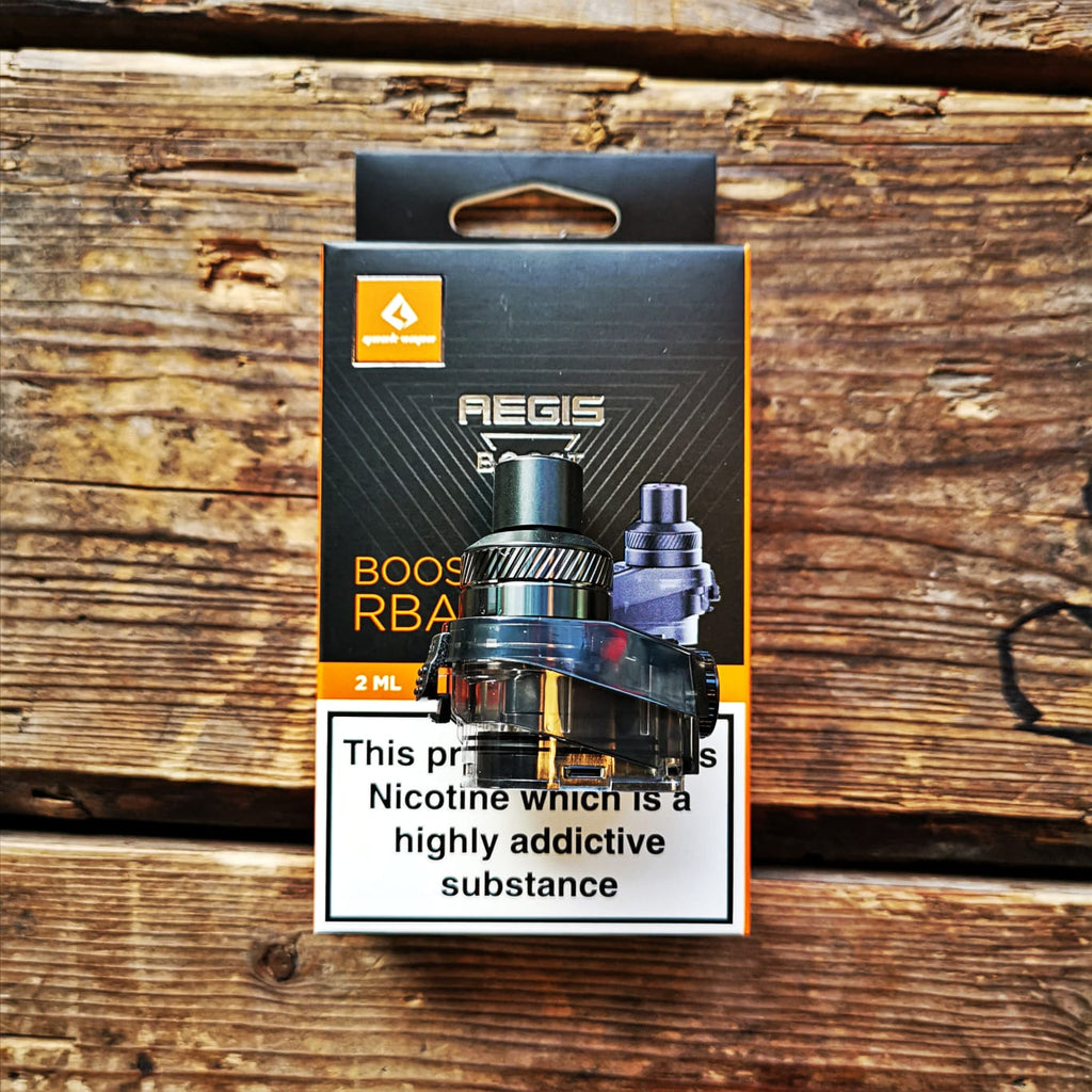 Geekvape Aegis Boost Rba Rebuildable Uk Stock Same Day Shipping