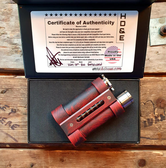 battleworn exo armor HDNE series mechanical mod