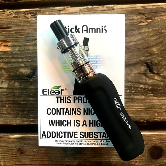 eleaf amnis ecig kit black silver