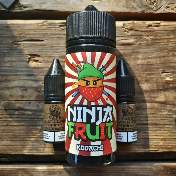 ninja fruit kodachi 100mls free nic shot