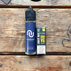 Nimbus cloud vape cherry rain 50mls short fill free nic shot