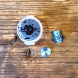 Titanium WARP Pipe Tip and Button Set by Never Normal
