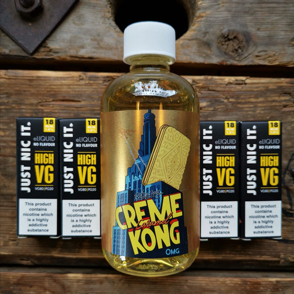 240ml 200ml creme kong caramel joe's juice