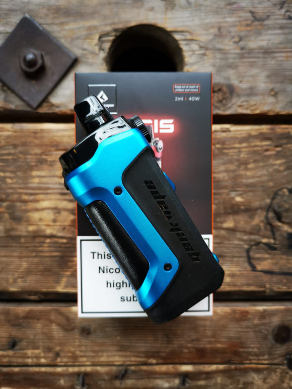 geekvape aegis boost plus pod system 2ml almight blue