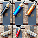 Dot mod Dot Stick red gold blue black coils