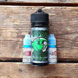 sadboy keylime cookie 100ml short fill free nic