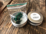 icm billet box button & tip emerald green
