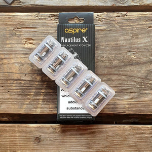 aspire nautilus X 1.5ohm coil replacement coil pack of 5