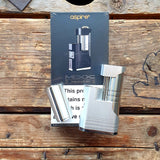 aspire sunbox SBS side by side Quick SIlver