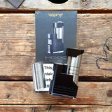 aspire sunbox SBS side by side Tuxedo Black And Silver