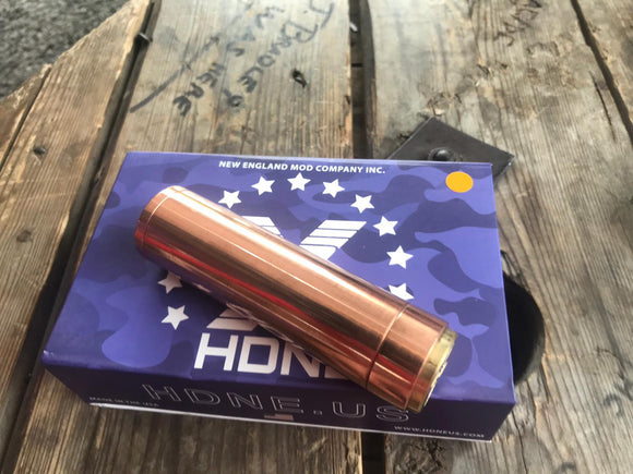 Copper Madhattan Mechanical Mod By HDNE