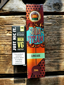 Soda steam limeade 50ml short fill
