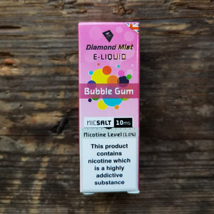 diamond mist bubble gum nic salt 20mg