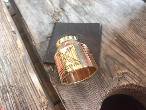 30mm crusher rda brass cap