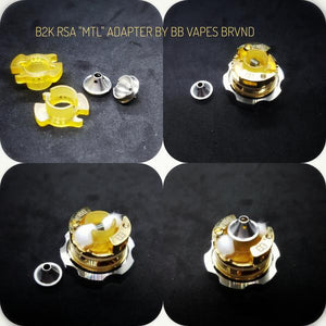 b2k mouth to lung mtl adapter chamber reducer