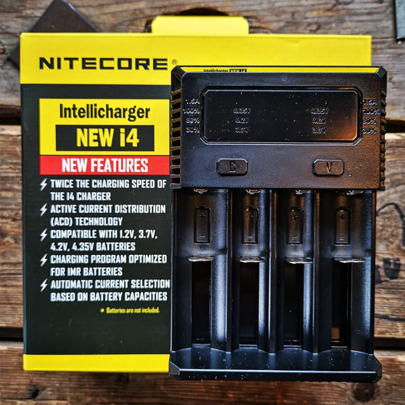 Nitecore i4 Dual Battery Charger