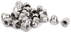 1/8 inch Stainless steel acorn cap nuts
