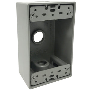 1-gang outlet box