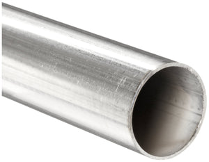 12 inch stainless steel tubing, 1/2 inch OD, 0.020-0.035 inch wall thickness