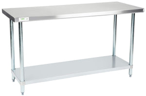 24x60 inch stainless steel commercial work table