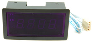 3 digit blue LED digital panel volt meter 700V AC, 5V DC supply