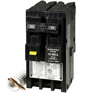 30A double-pole GFI breaker