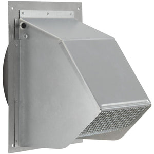 6 inch metal fresh air intake vent with screen