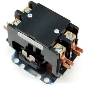 2 pole 50A (resistive) 240VAC contactor with 110-120VAC coil